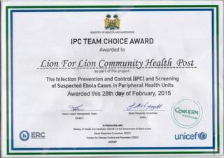 IPC TEAM CHOICE AWARD